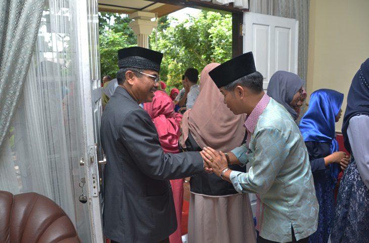Open House di Kediaman Sekab Agam. Idul Fitri Moment Silaturrahmi