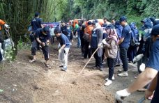 IMAPATAR Peduli Motori Goro Massal di Padang Tarok, Baso.