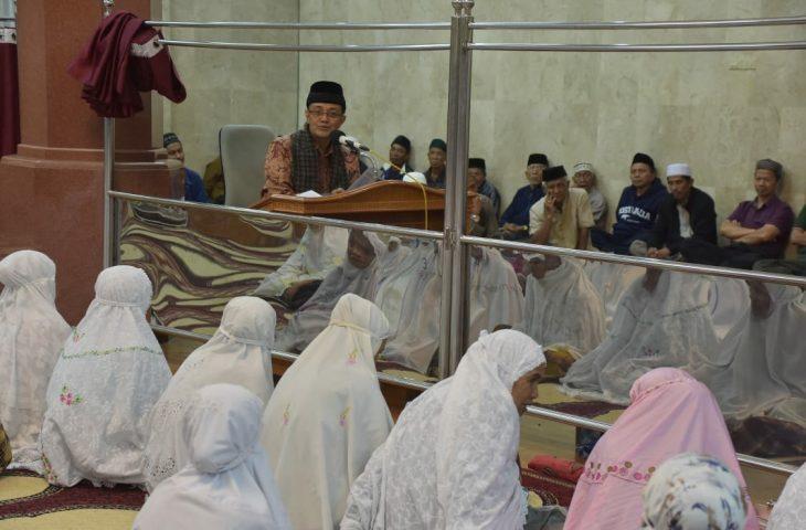 Penghujung Ramadhan 1439 H, Bupati Safari ke Masjid Al Mubarak