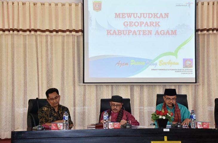Pemkab Agam Mewujudkan Geopark Terhadap Potensi Daerah