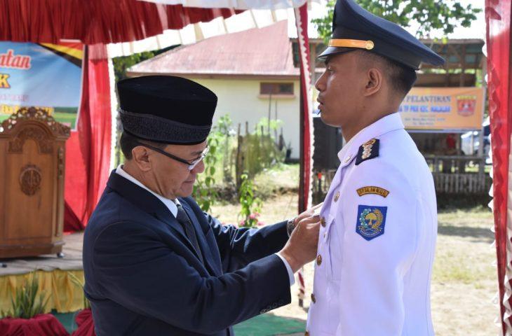 Ricky Eka Putra Dilantik Jadi Camat Malalak