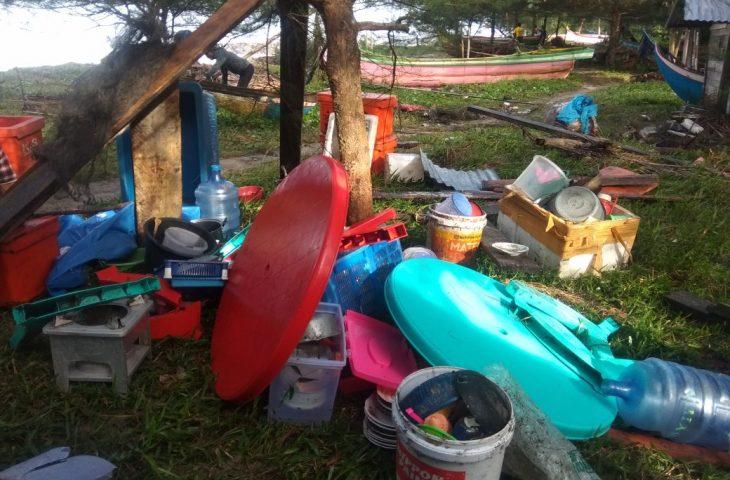 Abrasi Pantai di Muaro Putuih Pemkab Agam Gerak Cepat
