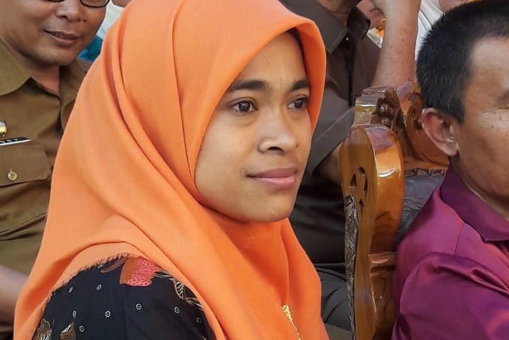 Susi, Kader Posyandu Melati Wakili Agam ke Sumbar