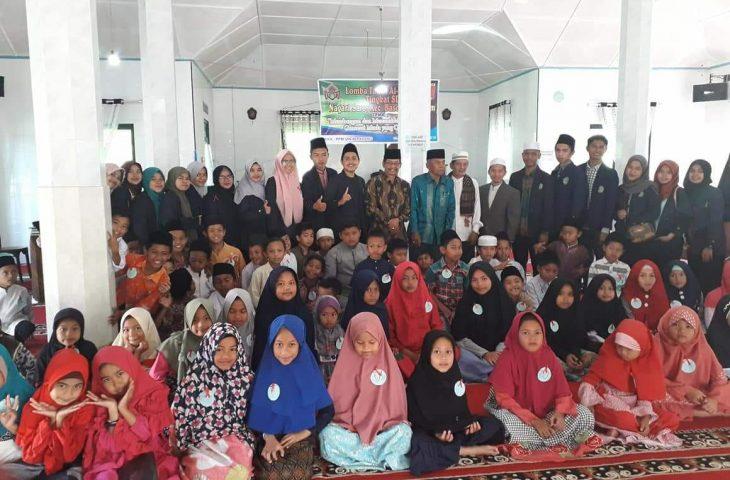 Mahasiswa KKN Gelar Lomba Tahfiz Qur'an di Baso