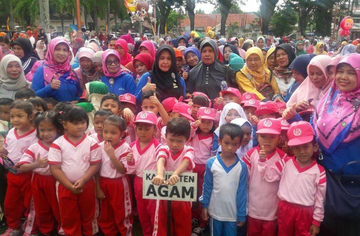 Besok, 1.000 Anak Ikuti Gebyar PAUD di GOR Rang Agam