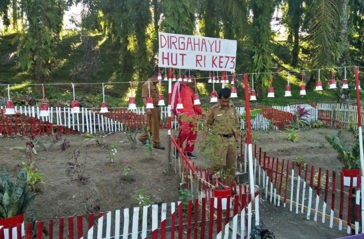 Ampek Nagari Meriah Lomba Gapura HUT RI Motivasi Warga