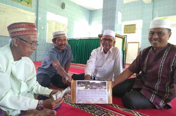 Baznas Agam Masih Galang Dana Gempa Lombok