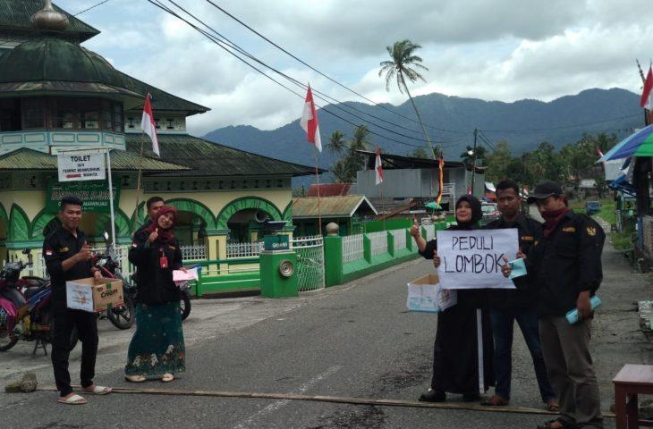 Panwas Tanjung Raya Galang Dana Peduli Lombok