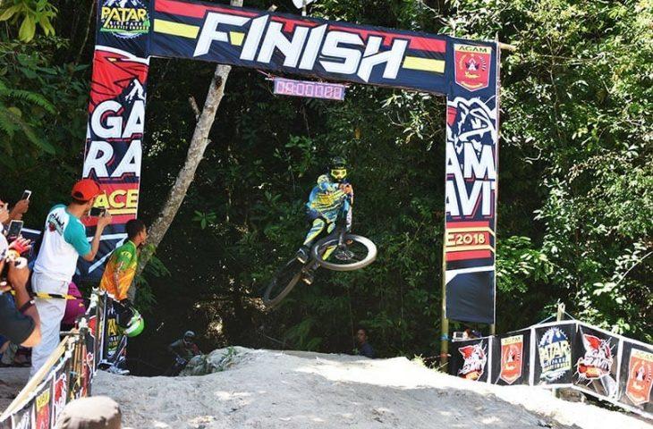 Agam Gravity Race 2018, Pebalap Sepeda Gunung Jajal Patar Bike Park Padang Tarok
