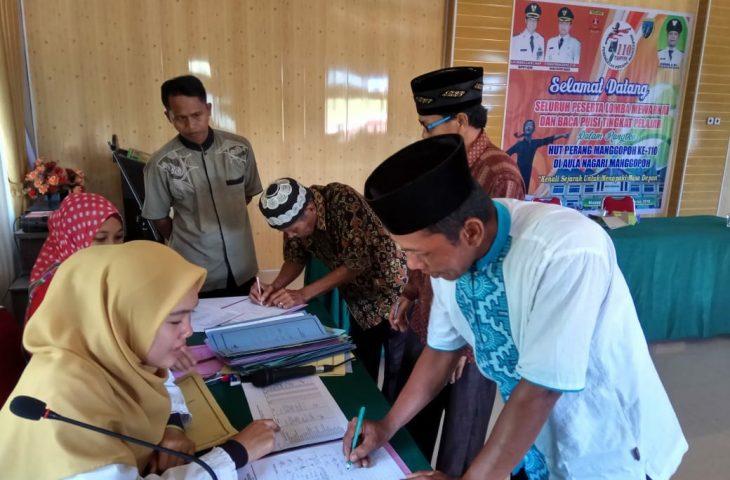 Nagari Manggopoh Serahkan Bantuan Transportasi Rp.30 Juta