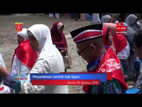 Sebanyak 393 Jemaah Haji Kloter 3 Sampai di Agam