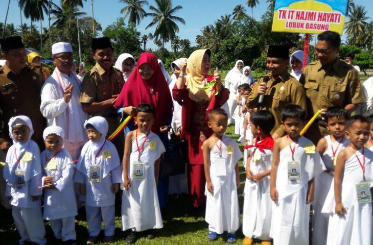 1.400 Anak Paud Gelar Simulasi Manasik Haji