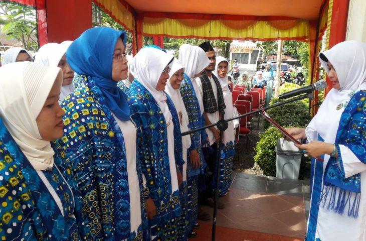 Pengurus BKMT Tanjung Mutiara Dikukuhkan