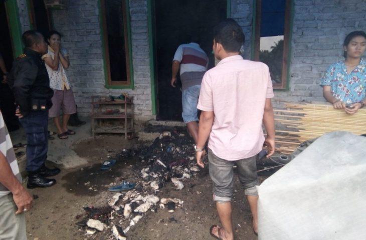 Racun Nyamuk Nyaris Hanguskan Satu Unit Rumah Permanen di Lubuk Basung