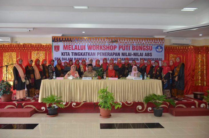 Bundo Kanduang Agam Gelar Workshop