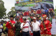 Vito dan Wahyudi Tercepat Pada Tour de Maninjau TNI