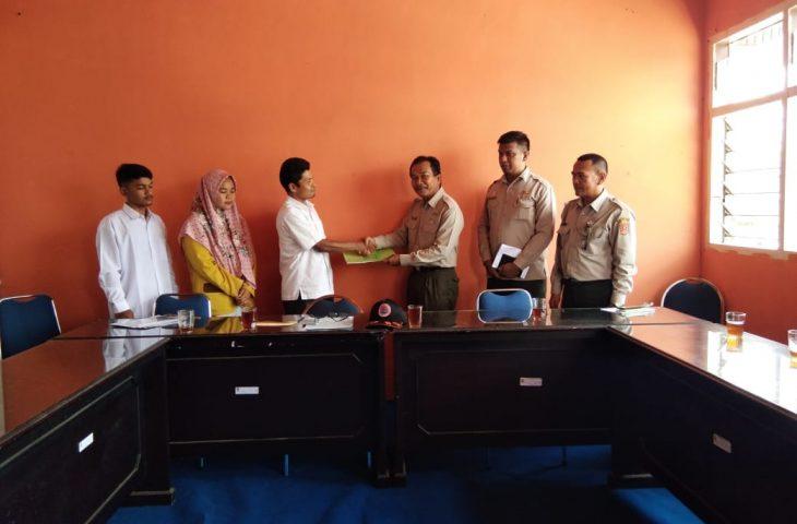 BPBD Agam Terima Mahasiswa PPL Dari IAIN Bukittinggi