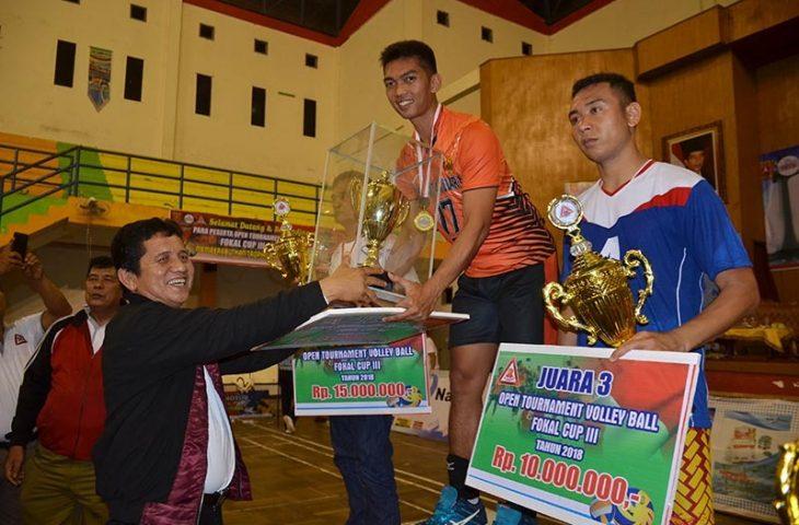 Juara Umum Turnamen Vollyball Fokal Cup III Berpindah Tangan ke Club TNI AU