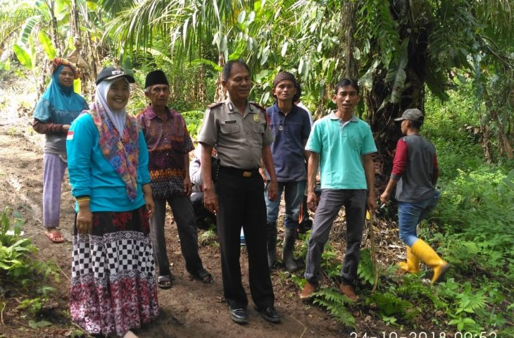 Camat Ampek Nagari Goro Massal Tanam Bibit Produktif