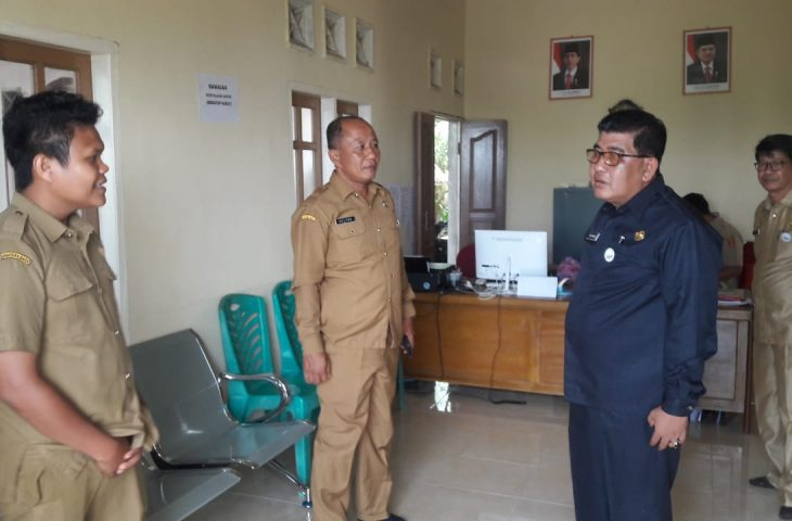 Assisten Bupati Monitoring Pelayanan Kantor Nagari Persiapan Durian Kapeh Darussalam