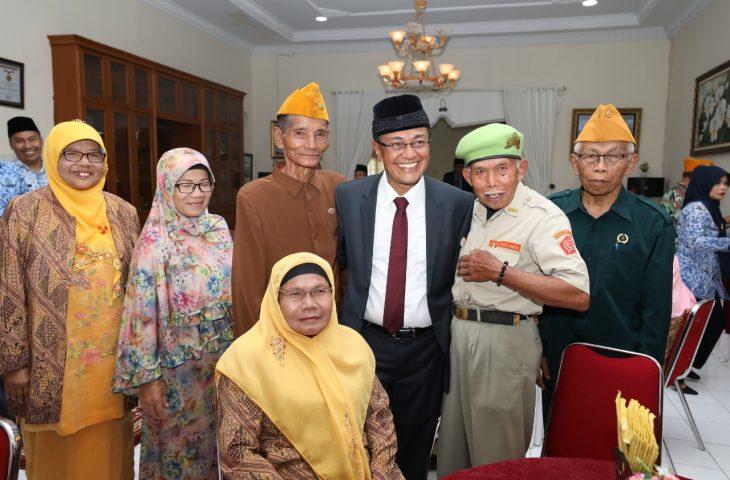Bupati Temu Ramah dengan Veteran