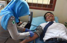 HUT Korpri ke-47. Indra Catri dan ASN Agam Donor Darah