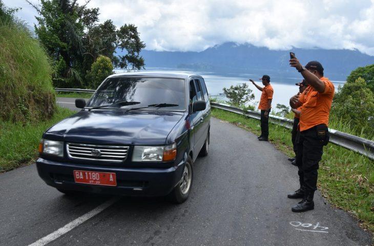 Amankan TdS 2018 Etape 4, Personil BPBD Agam Siaga