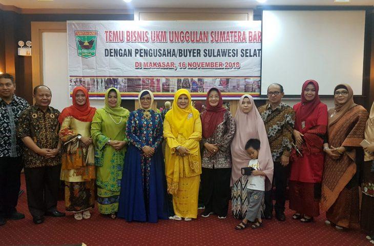 Pelaku UKM Agam Temu Bisnis di Makassar