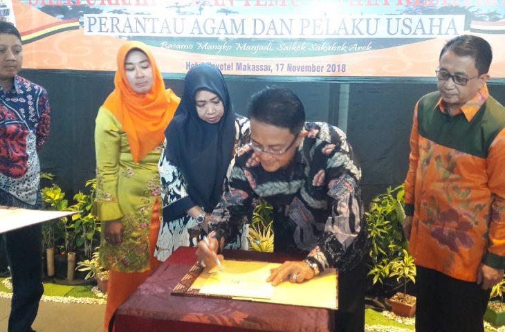 Pemkab Agam dan Pemko Makassar MoU Bidang UKM dan Kepariwisataan