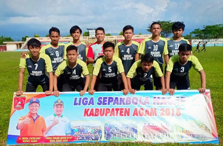 Final Liga Nagari Agam 2018 Tiku Selatan vs Cantola Bersaing Ketat
