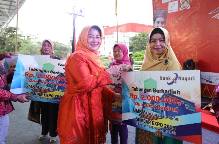 UMKM Agam Omzet Tertinggi Pada Sumbar Expo 2018