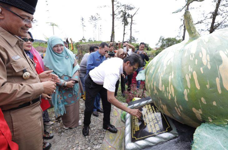 Gubernur Resmikan Objek Wisata Rasak Gadang