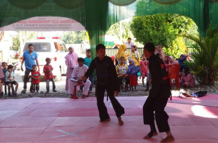 Puluhan Pesilat Berlaga di Nagari Kampung Pinang