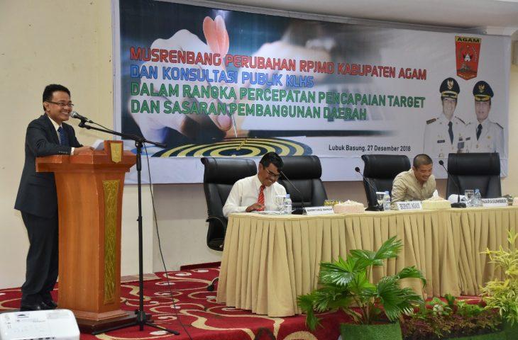 Pemkab Agam Rubah RPJMD 2016-2021