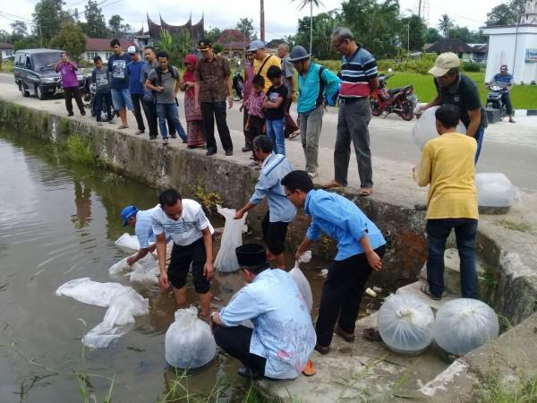 DPKP Agam Targetkan Dua Juta Bibit Ikan Tersebar Pada 2019