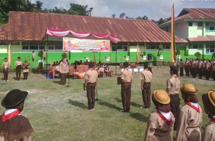 Beragam Lomba Pramuka Digelar di MAS Taman Raya Balingka