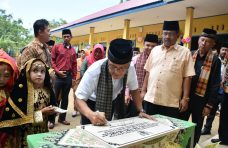 Bupati Agam Resmikan Gedung Baru TK Trimarga Canduang