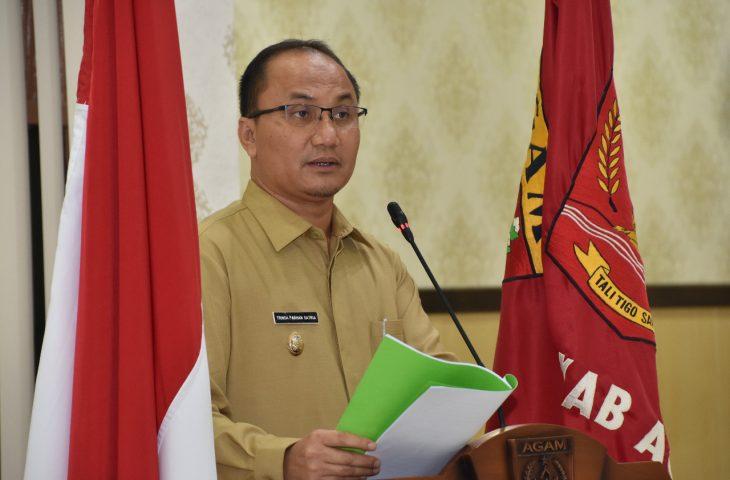 Bupati Jawab Pandangan Umum DPRD Tentang Ranperda Pengelolaan Barang Milik Daerah