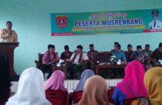 Tiga Isu Strategis di Kacamatan Canduang Dibahas Dalam Musrenbang