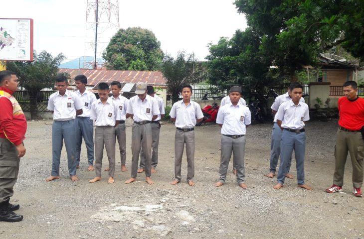 Nongkrong di Warung Saat Jam Belajar, 11 Siswa SMK 1 Tanjung Raya Kena Razia