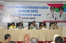 Pemkab Agam Gelar Rapat Forum OPD Menyelaraskan Program