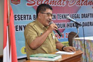 Asisten I : Penyusunan Produk Hukum Daerah Harus Jelas