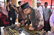 Sempat Ragu, Bupati Apresiasi Pembangunan Masjid Jami' Galuang