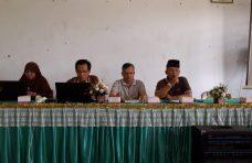 Kawal Transparansi dan Pekerjaan Fisik, Camat Palupuh Sosialisasi dengan Nagari