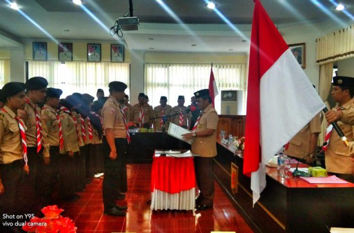 Ketua Kwarcab Pramuka Agam Lantik Pengurus DKC