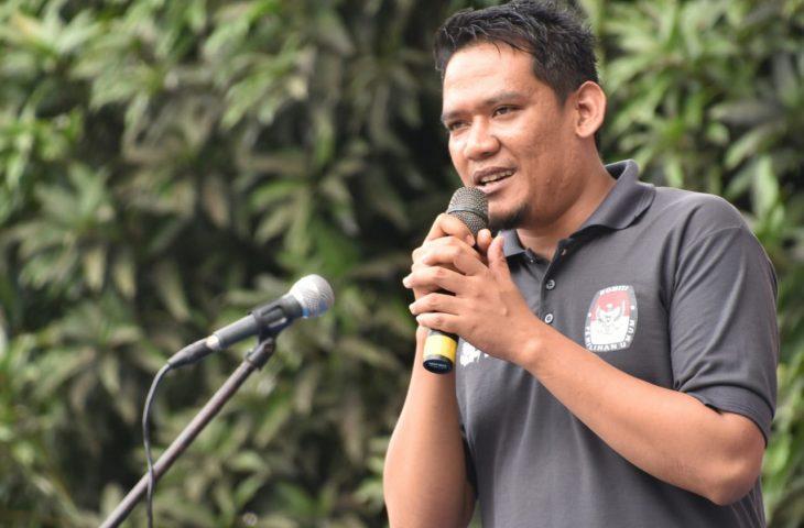 Ajak Masyarakat Gunakan Hak Pilih, Ketua KPU Agam: Jangan Lupa Bawa C6