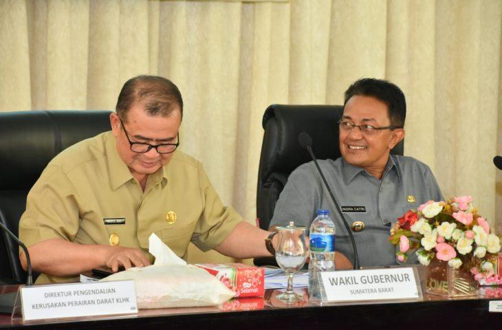 Nasrul Abit dan Indra Catri Kompak Selamatkan Danau Maninjau
