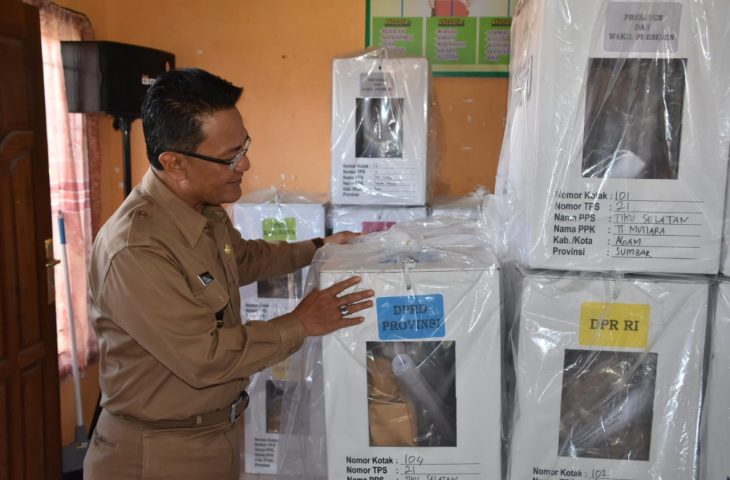 Pemilu dalam Hitungan Jam, Bupati Agam Monitoring Kesiapan