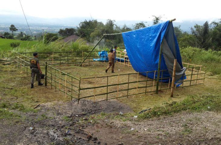 Diterjang Angin Puting Beliung, Dua TPS di Canduang Dipindahkan