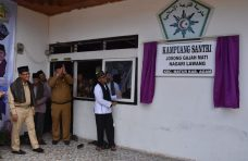 Launching Kampung Santri Lawang, Bupati : Sebagai Wujud Ciptakan Generasi Qur'ani
